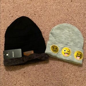 Set of two hats, never worn!